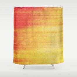 Color Burst - Sunset Ring Shower Curtain
