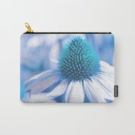 Coneflower blue 11 Carry-All Pouch