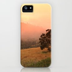 Early Fog In The Hills Slim Case iPhone (5, 5s)