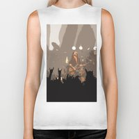 rock and roll Biker Tanks featuring Motorhead Rock and Roll  by Premium