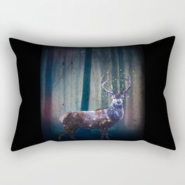 Deep In The Woods Rectangular Pillow