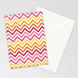 Rainbow Chevron #1 Stationery Cards