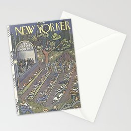 Vintage New Yorker Cover - Circa 1927-2 Stationery Cards