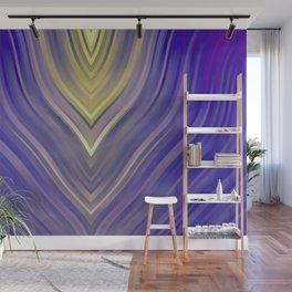 stripes wave pattern 3 ls Wall Mural