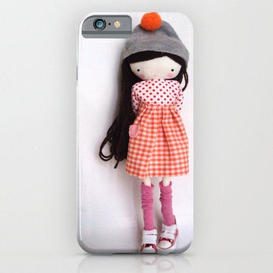 Autumn girl iPhone & iPod Case