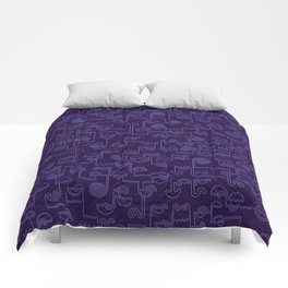 Nocturnal House Comforters