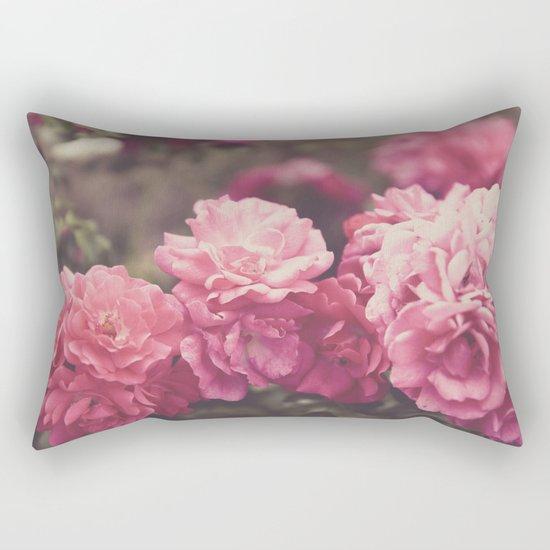 Vintage Florals Rectangular Pillow
