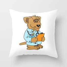 Trust me I am a Dogtor - gift Throw Pillow