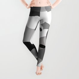 Camo-licious Collection: Dirty Martini Gray Camo Pattern Leggings