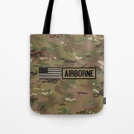Airborne (Camo) Tote Bag