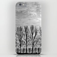 Black and white landscape iPhone 6 Plus Slim Case