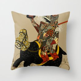 Hooray Throw Pillow