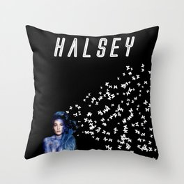 Halsey (Demo) Throw Pillow