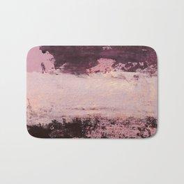 burgundy rose Bath Mat