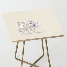 Floral Fox 2 Side Table