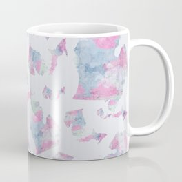 Michigan Cotton Candy Watercolor Pattern Coffee Mug