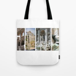 The monuments of Rome Tote Bag