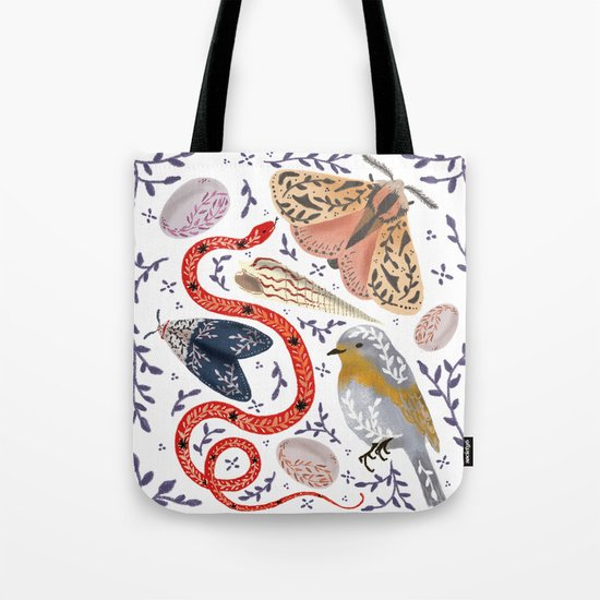 Fauna - biodiversity illustration Tote Bag
