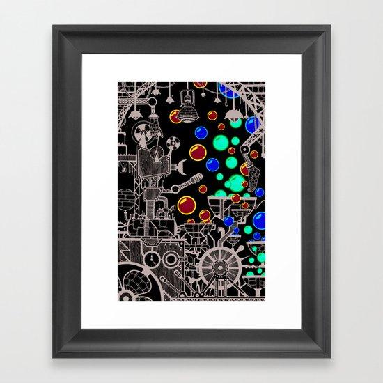 The Bubble Machine Framed Art Print