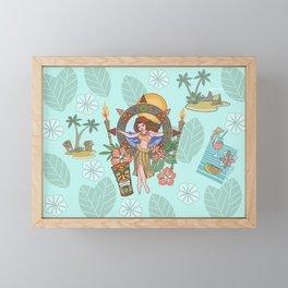 Island delight Framed Mini Art Print