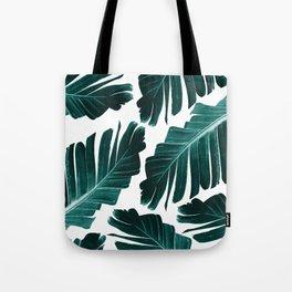 Tropical Banana Leaves Dream #1 #foliage #decor #art #society6 Tote Bag