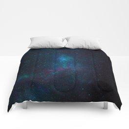 Textures galaxy sky space Comforters