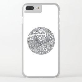 Koru Clear iPhone Case