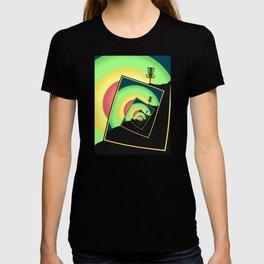 Spinning Disc Golf Baskets 5 T-shirt