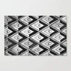 Tiling with pattern 2 Canvas Print