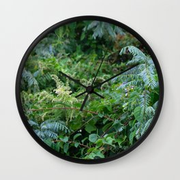 Cool Forest Wall Clock