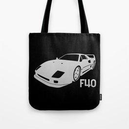 Ferrari F40 - silver - Tote Bag