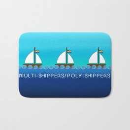 Multi-Shippers/Poly-Shippers Bath Mat