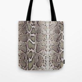 Snake Skin Tote Bag