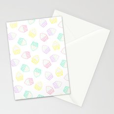 pastel cupcakes  Stationery Cards