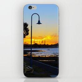 Wynnum Sunset iPhone Skin