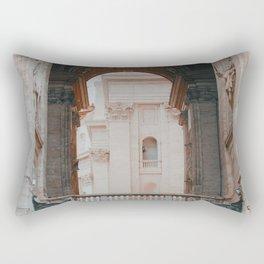 Standing Guard Rectangular Pillow