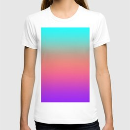 Sunset shades on the sea T-shirt