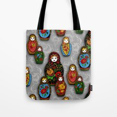 Matryoshki pattern Tote Bag