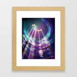 Grand Chariot Framed Art Print