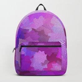 Nine Pointed Star - Pink Backpack
