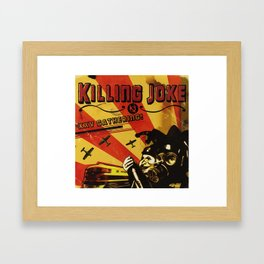 KILLING JOKE XXV GATHERING TOUR DATES 2019 JARJIT Framed Art Print