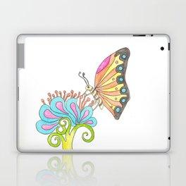 Butterfly & Flower Laptop & iPad Skin
