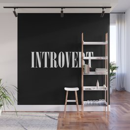 Introvert Wall Mural
