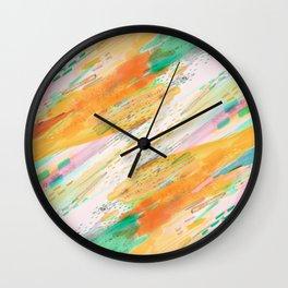 Fibers Wall Clock