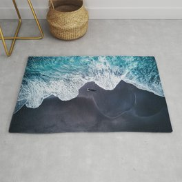 Beautiful Landscape Beach Rug