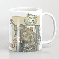 banjo Mugs featuring Banjo Lion by Felis Simha