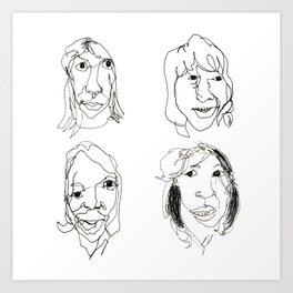 ABBA Art Print