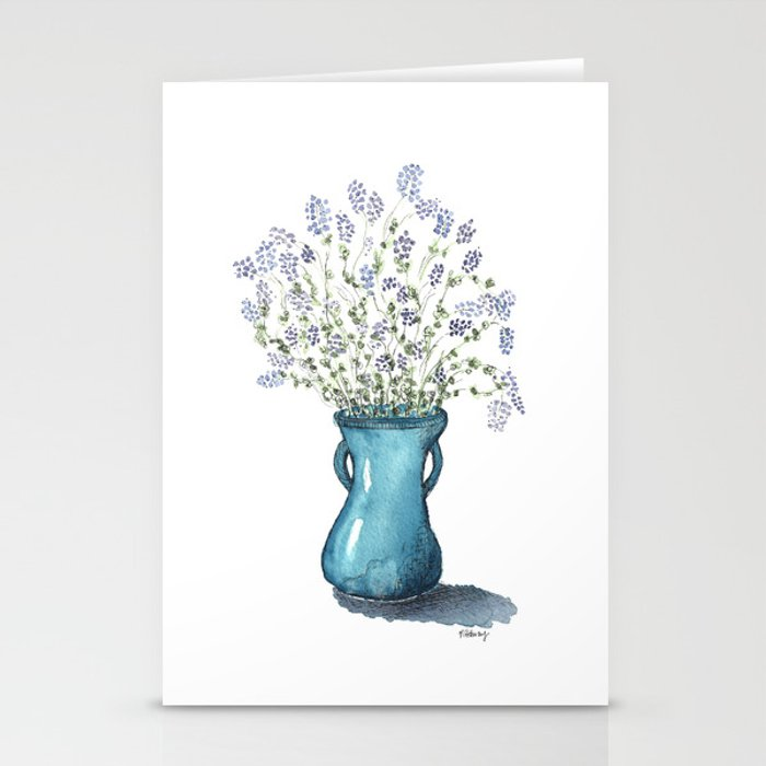 Alfalfa Bouquet Stationery Cards
