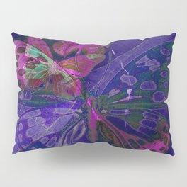 Marble Butterflies Pillow Sham
