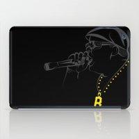 biggie smalls iPad Cases featuring Biggie Smalls by GoldenArt